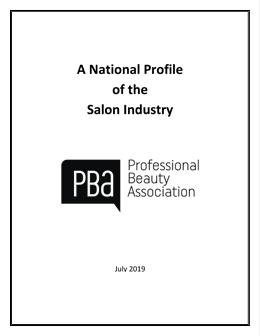 National Salon / Spa Industry Profile 2019